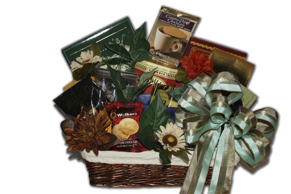 seasons change deluxe relaxation gift basket